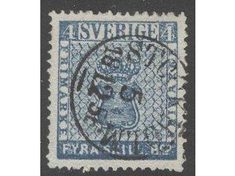 F2e, STOCKHOLM 5.12.1856, felfritt ex sign O.P. - Västerås - F2e, STOCKHOLM 5.12.1856, felfritt ex sign O.P. - Västerås