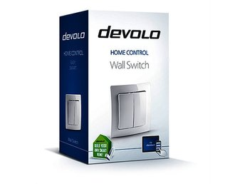 Devolo Home Control Wireless Wall Switch, Z-Wave 868, inomhus-/utomhusbruk, vit