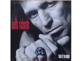 Keith Richards title*  Take It So Hard* Rock, Hard Rock EU  7""