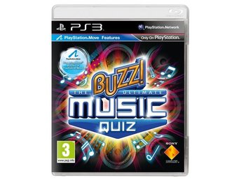Buzz: The Ultimate Music Quiz - Playstation 3