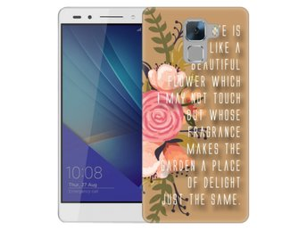Huawei Honor 7 Skal Beautiful Quote