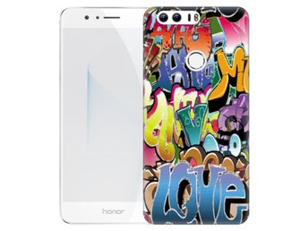 Huawei Honor 8 Skal Graffiti
