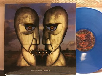 PINK FLOYD - THE DIVISION BELL - BLUE VINYL