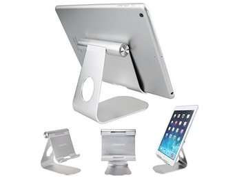 Universal Aluminum Alloy Anti-Slip Portable Support Tablet Stand Holder for iPad