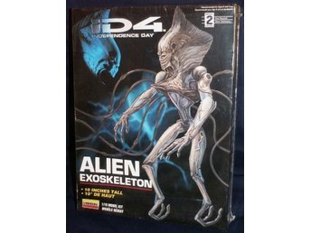 Independence Day ID4 Alien Exoskeleton   Byggsats
