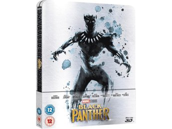 Black Panther 3D+2D Limited Edition Steelbook Blu-ray