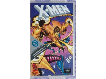 VHS X-MEN Night of the Sentinels och Days of future Past (Marvel 90-tal)