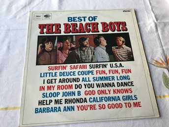 BEACH BOYS THE - BEST OF LP 1966