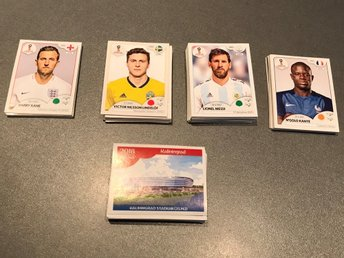 Panini vm 2018 stickers world cup 214 st (unika)