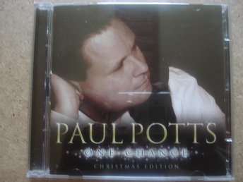 Dubbel-CD Paul Potts One chance Christmas edition