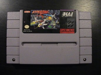 HYPERZONE / SUPER NINTENDO SNES / USA IMPORT