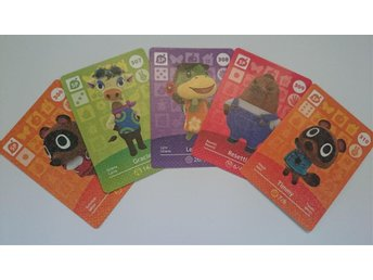 Animal Crossing Amiibo Cards series 4 Nr 306 - 310