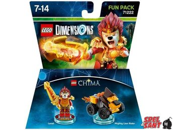 Lego Dimensions Legends of Chima Laval Fun Pack 71222 - Norrtälje - Lego Dimensions Legends of Chima Laval Fun Pack 71222 - Norrtälje