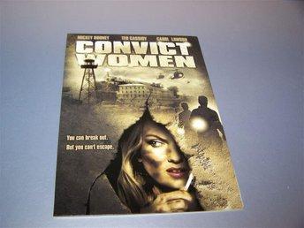 Convict Women (1974) / Reg. 1 (US) - NY - Mickey Rooney women escape from prison - Gnesta - Convict Women (1974) / Reg. 1 (US) - NY - Mickey Rooney women escape from prison - Gnesta