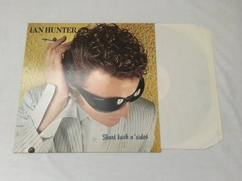 IAN HUNTER Short Back N Sides NM LP GER 1981