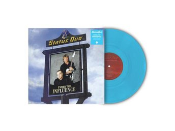 Status Quo: Under the influence (Blue) (Vinyl LP)