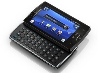 Sony Ericsson Xperia mini Pro android med qwerty tangentbord - GRATIS FRAKT