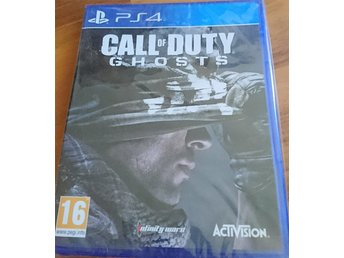CALL OF DUTY GHOSTS PS 4 nytt! (Inplastad)