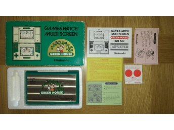 Game & Watch Multi Screen Green House