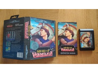 Sega Mega Drive: Sword of Vermillion Vermilion