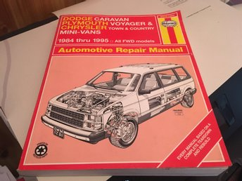 Reparationshandbok Dodge caravan plymouth voyager Chrysler Town&Country