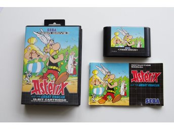 Asterix And The Great Rescue - Komplett - CIB - Sega Mega Drive