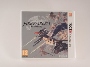 Nintendo 3DS  --  Fire Emblem Awakening  --  PAL