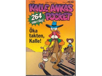 KALLE ANKAS POCKET  NR 121