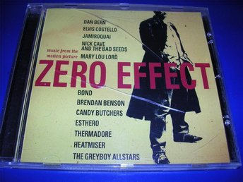 ZERO EFFECT - soundtrack - elvis costello,bond,nick cave(cd)