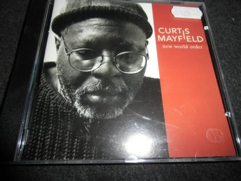 Curtis Mayfield - New world order - CD- 1996 - Ny