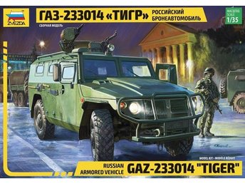 Zvezda 1/35 Russian Infantry Mobility Vehicle 4x4