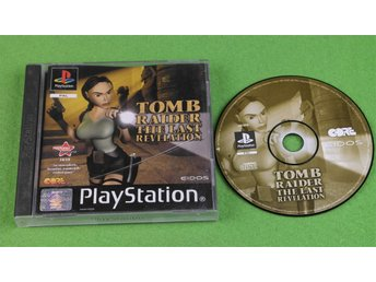 Tomb Raider The Last Revelation ENGELSK UTGÅVA Playstation ps1