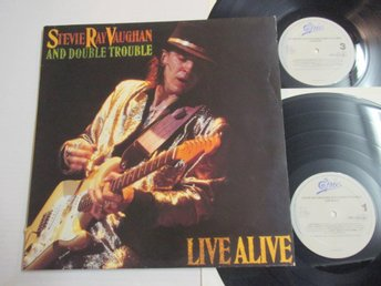 Stevie Ray Vaughan and Double Trouble Live Alive