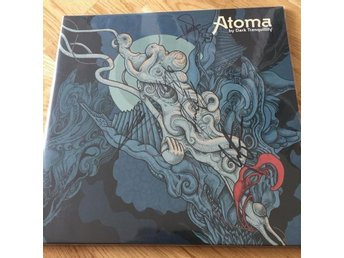 Dark Tranquillity - Atoma - signed limited blue vinyl -  Lp och Cd