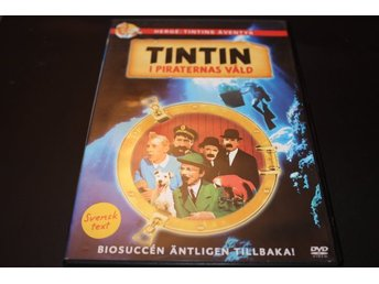 DVD-film: Tintin i Piraternas våld