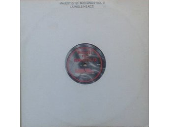 "Majestic 12 title* Midlands Vol.2 * Club, brekbeat- Jungle 90's 12"" UK"
