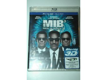 Men in Black 3 (Blu-ray 3D + Blu-ray) NY & Inplastad!