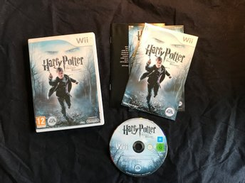 HARRY POTTER AND THE DEATHLY HALLOWS PART 1 WII NINTENDO BRA SKICK
