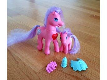 My little pony g2, Light up family - Morning Gl   (334940967