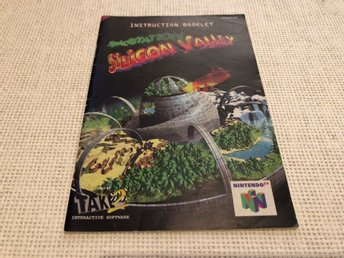 Spacestation Silicon Valley - N64 manual