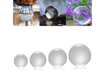 50/100/120/150mm K9 Crystal Photography Lens Ball Photo P...