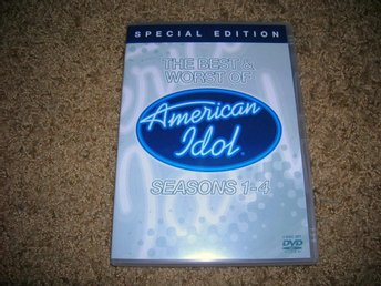 The Best & Worst of AMERICAN IDOL season 1-4 DVD 2-disc
