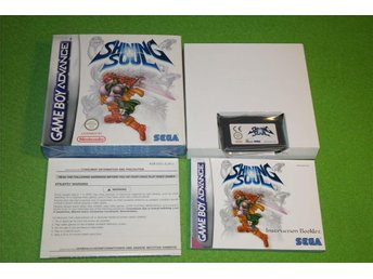 Shining Soul KOMPLETT PERFEKT SKICK MINT GBA Gameboy Advance