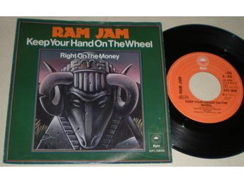 Ram Jam 45/PS Keep your hand on the wheel 1977 VG - Farsta - Ram Jam 45/PS Keep your hand on the wheel 1977 VG - Farsta