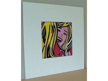 Roy Lichtentein – Girl In Mirror 1964 - Huddinge - Roy Lichtentein – Girl In Mirror 1964 - Huddinge