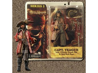 Pirates Of The Caribbean - At Worlds End - Capt. Teague - Series 2 - Neca