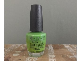 OPI Nagellack Green-Wich Village Kicks Ärtgrönt 15 ml Rave Punk Sommar Somrig