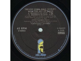 "Trevor Horn, Paul Morley With The Art Of Noise – Moments In Love 12"" MINT!"