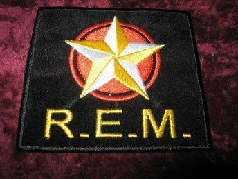R.E.M. TYGMÄRKE (9 X 8 CM) - Katrineholm - R.E.M. TYGMÄRKE (9 X 8 CM) - Katrineholm