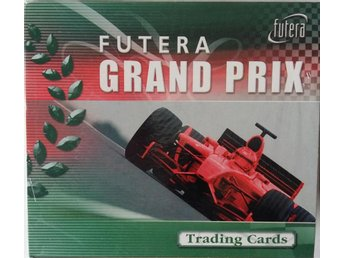 Futera Grand Prix Collection 2005 Trading Cards Box